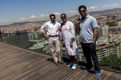 The Leaders see Barcelona as an ideal sustainable city model