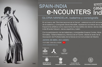 Nueva sesión de Spain-India Encounters con Gloria Mandelik