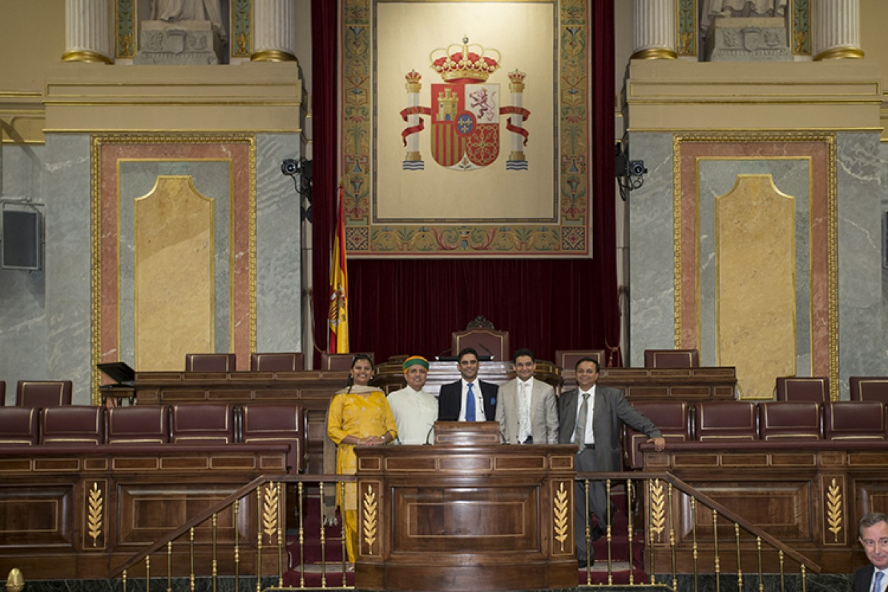 Visit to Spain's Congress of Deputies and historic Madrid