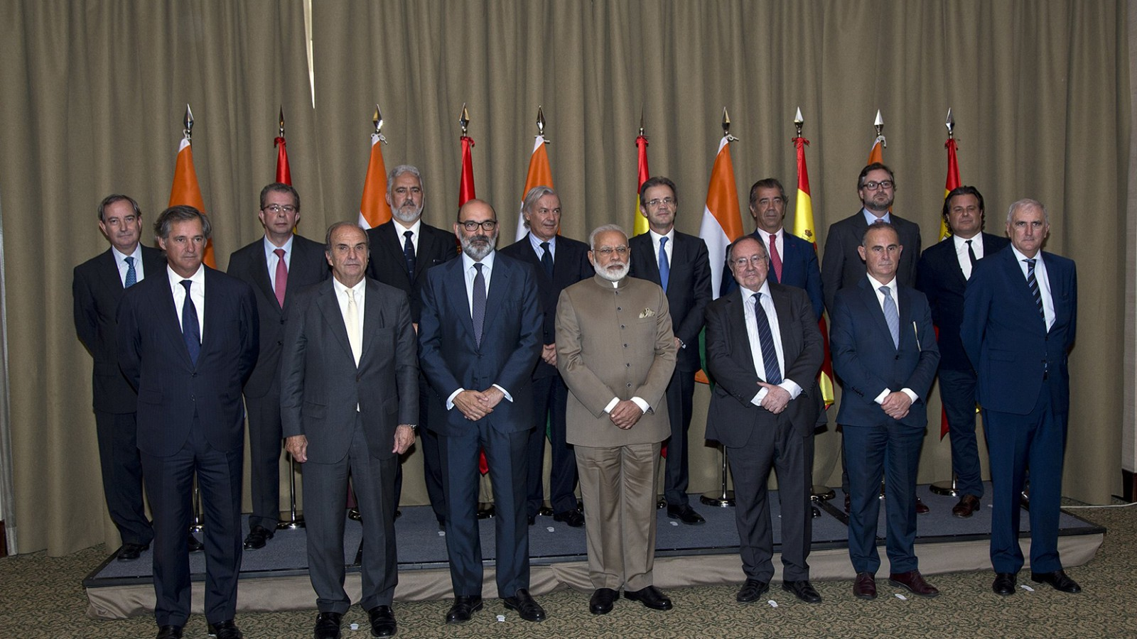 SICF participates in a private meeting with Narendra Modi
